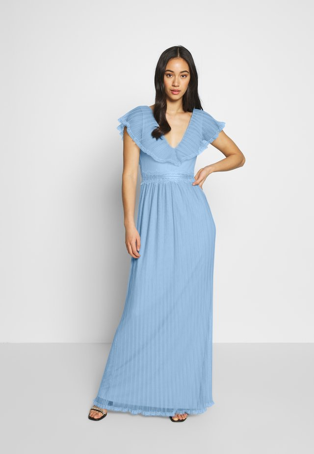 UNFORGETTEBLE GOWN - Occasion wear - dusty blue
