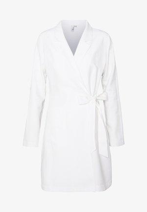 WRAP SUIT DRESS - Korte jurk - white
