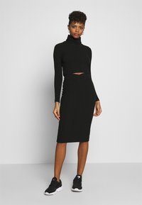Nly by Nelly - SKIRT SET - Jumper - black - 0