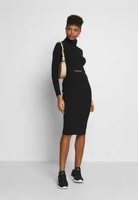 Nly by Nelly - SKIRT SET - Jumper - black - 1
