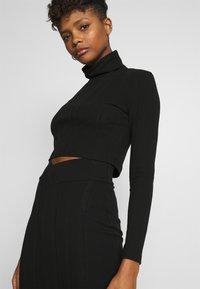 Nly by Nelly - SKIRT SET - Jumper - black - 5