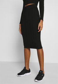 Nly by Nelly - SKIRT SET - Jumper - black - 3