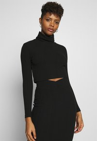 Nly by Nelly - SKIRT SET - Jumper - black - 2