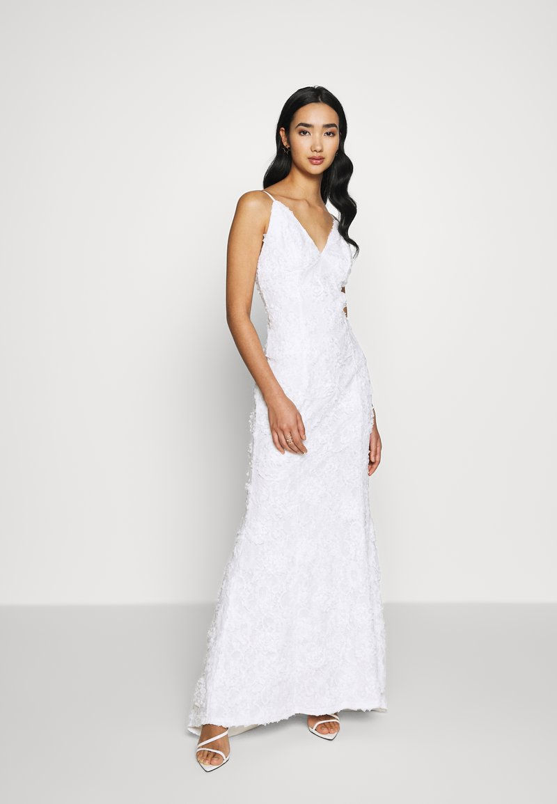 Nly by Nelly - DESIRABLE GOWN - Iltapuku - white