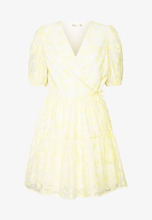 BLOOM DRESS - Day dress - light yellow