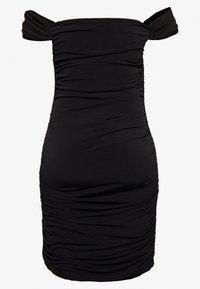 Nly by Nelly - OFF SHOULDER DRESS - Sukienka etui - black - 1