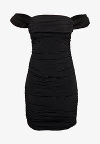 Nly by Nelly - OFF SHOULDER DRESS - Sukienka etui - black - 0