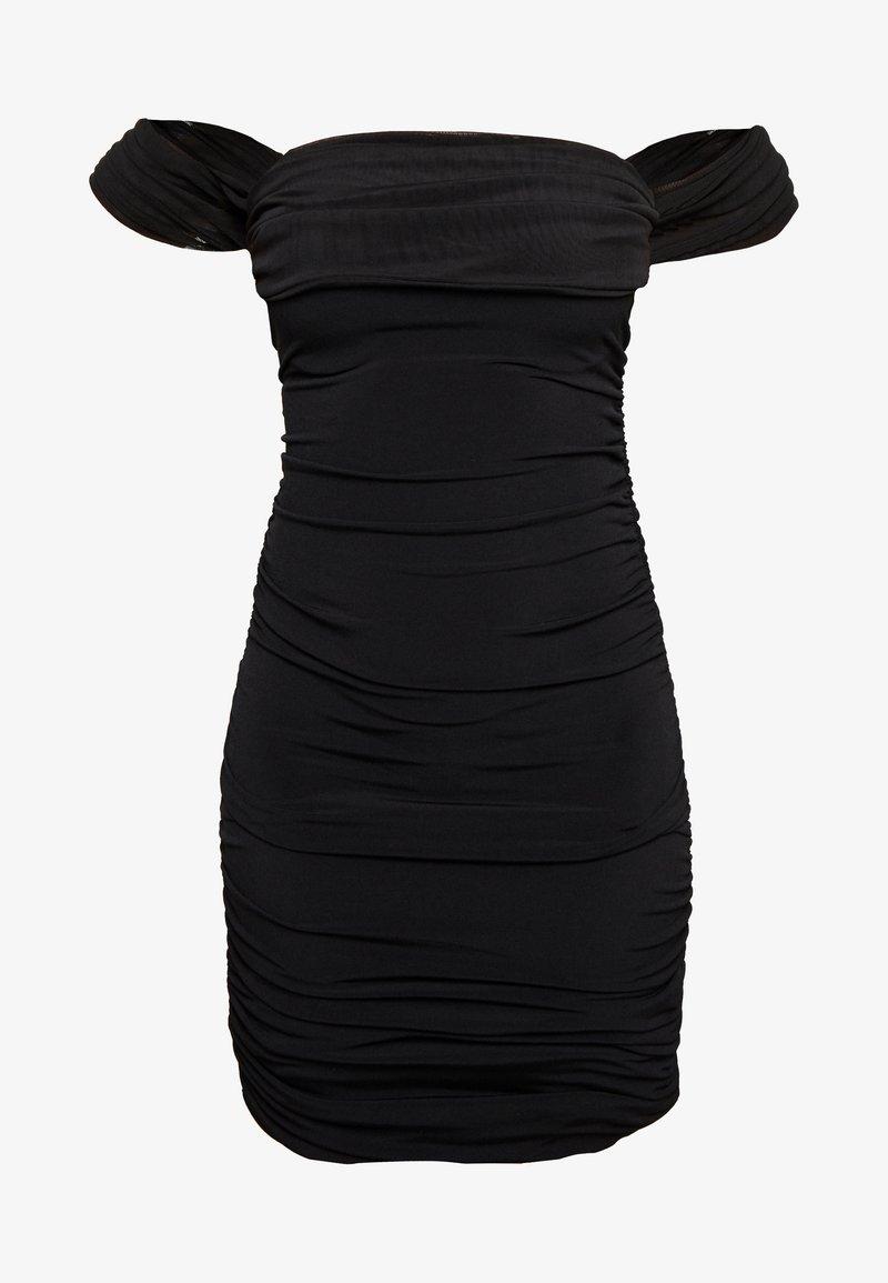 Nly by Nelly - OFF SHOULDER DRESS - Sukienka etui - black
