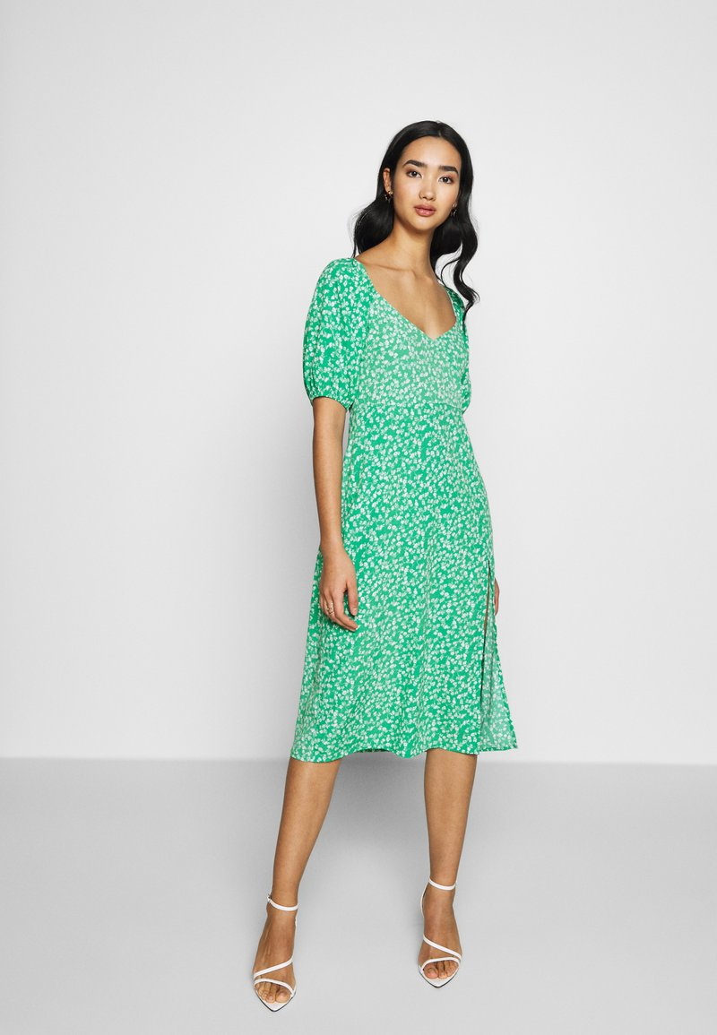 Nly by Nelly - OFF SHOULDER DRESS - Day dress - multi-coloured