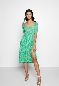 Nly by Nelly - OFF SHOULDER DRESS - Day dress - multi-coloured - 2