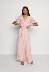 Nly by Nelly - PUFF SLEEVE GOWN - Iltapuku - dusty pink - 2