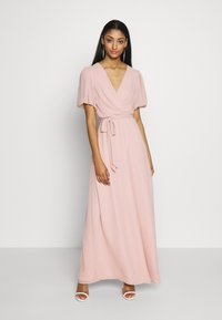 Nly by Nelly - PUFF SLEEVE GOWN - Iltapuku - dusty pink - 0