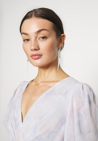 Nly by Nelly - PUFF SLEEVE GOWN - Galajurk - pink - 3