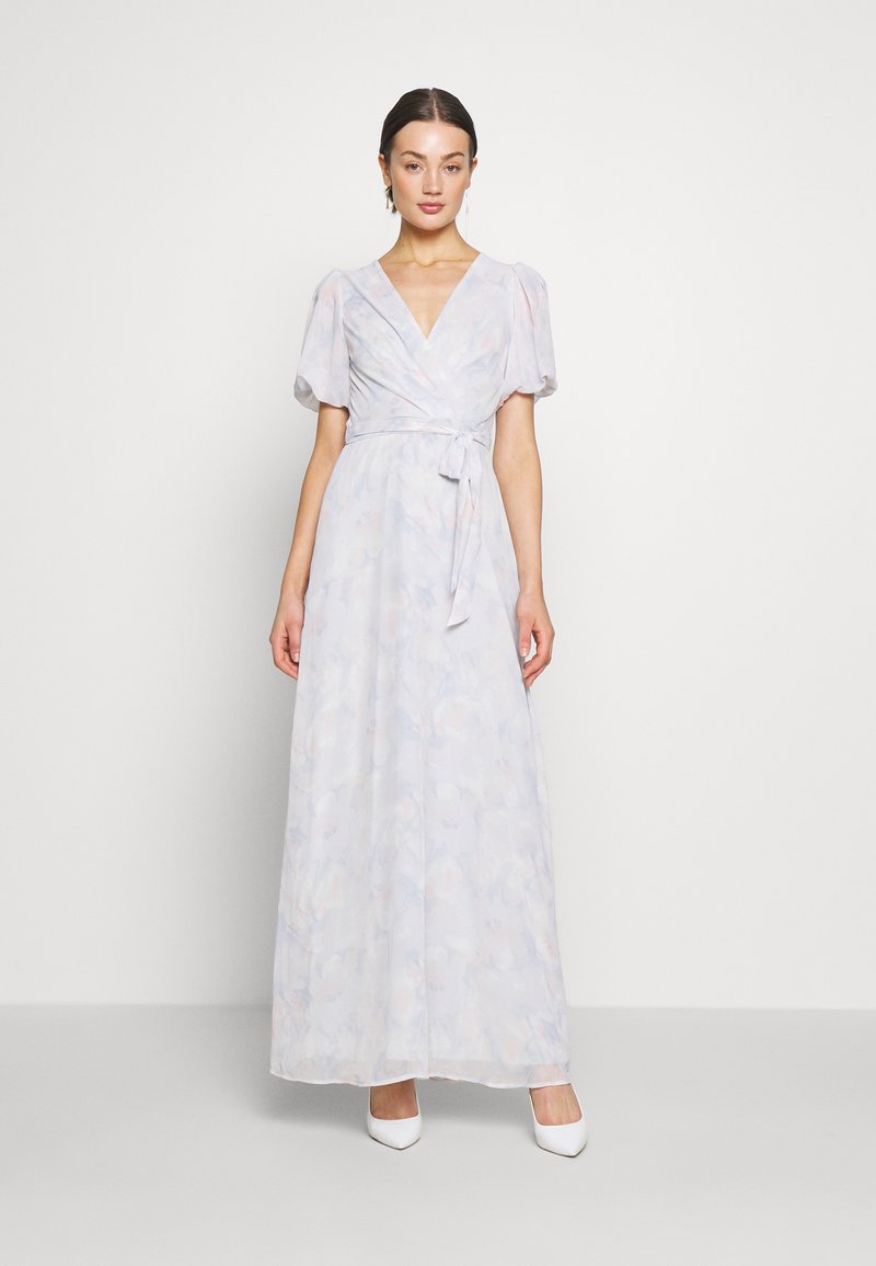 Nly by Nelly - PUFF SLEEVE GOWN - Galajurk - pink