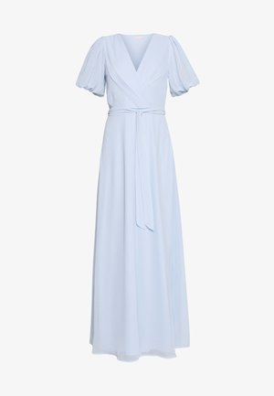 PUFF SLEEVE GOWN - Occasion wear - blue