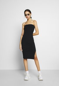 Nly by Nelly - OFF DUTY TUBE DRESS - Tubino - black - 1