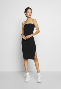 Nly by Nelly - OFF DUTY TUBE DRESS - Tubino - black - 0