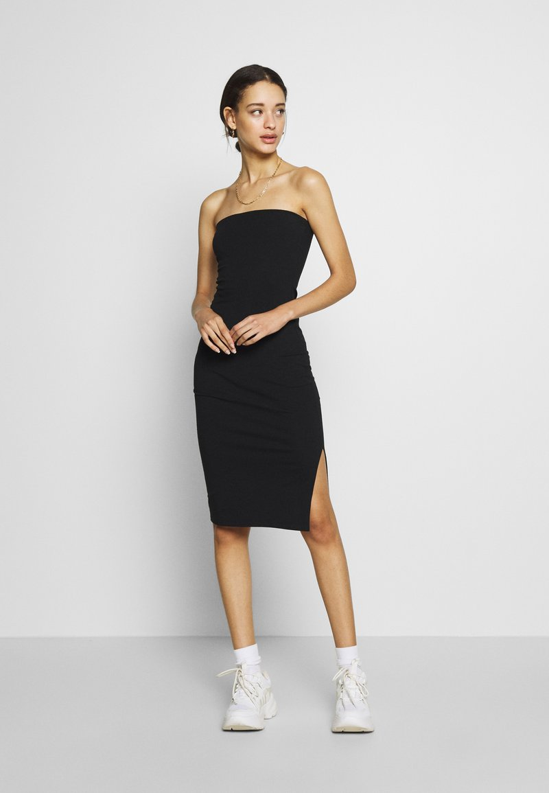 Nly by Nelly - OFF DUTY TUBE DRESS - Tubino - black