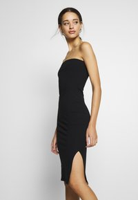 Nly by Nelly - OFF DUTY TUBE DRESS - Tubino - black - 3