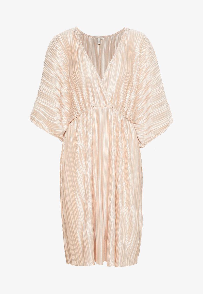 Nly by Nelly - PLEATED KIMONO DRESS - Vestito elegante - champagne