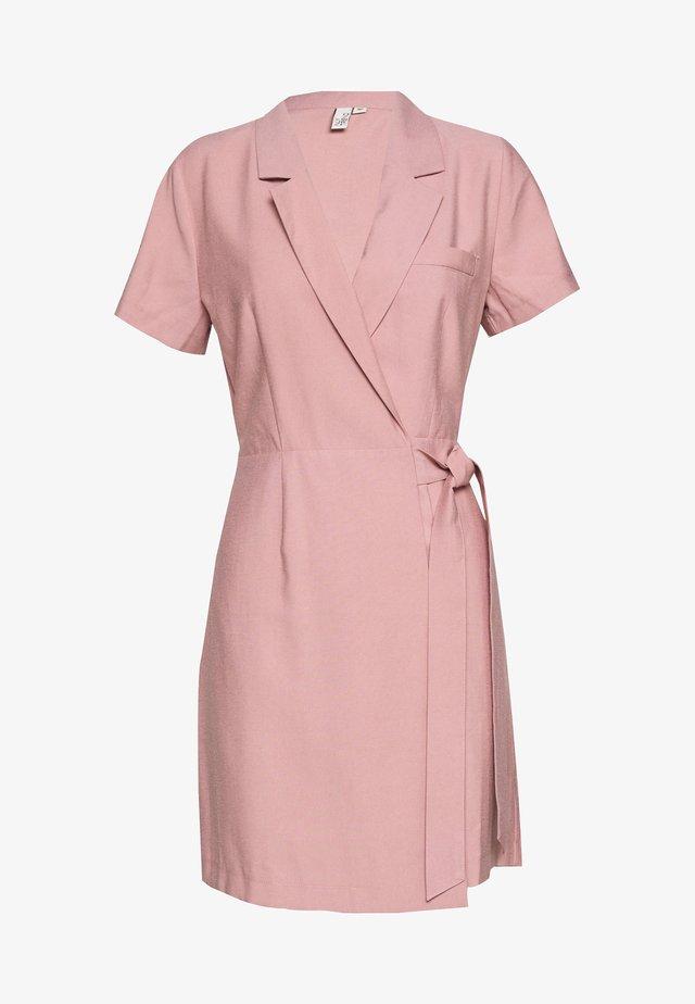 WRAP SUIT SUMMER DRESS - Korte jurk - light pink