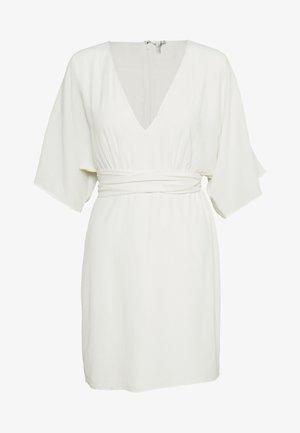 KIMONO BOW DRESS - Vestito estivo - white