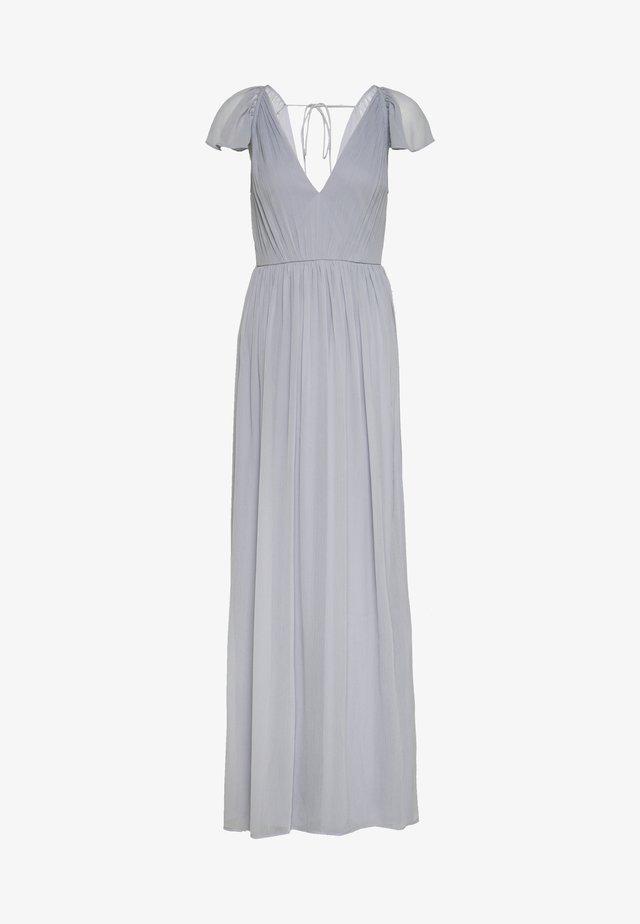 ON MY WAY GOWN - Společenské šaty - dusty blue