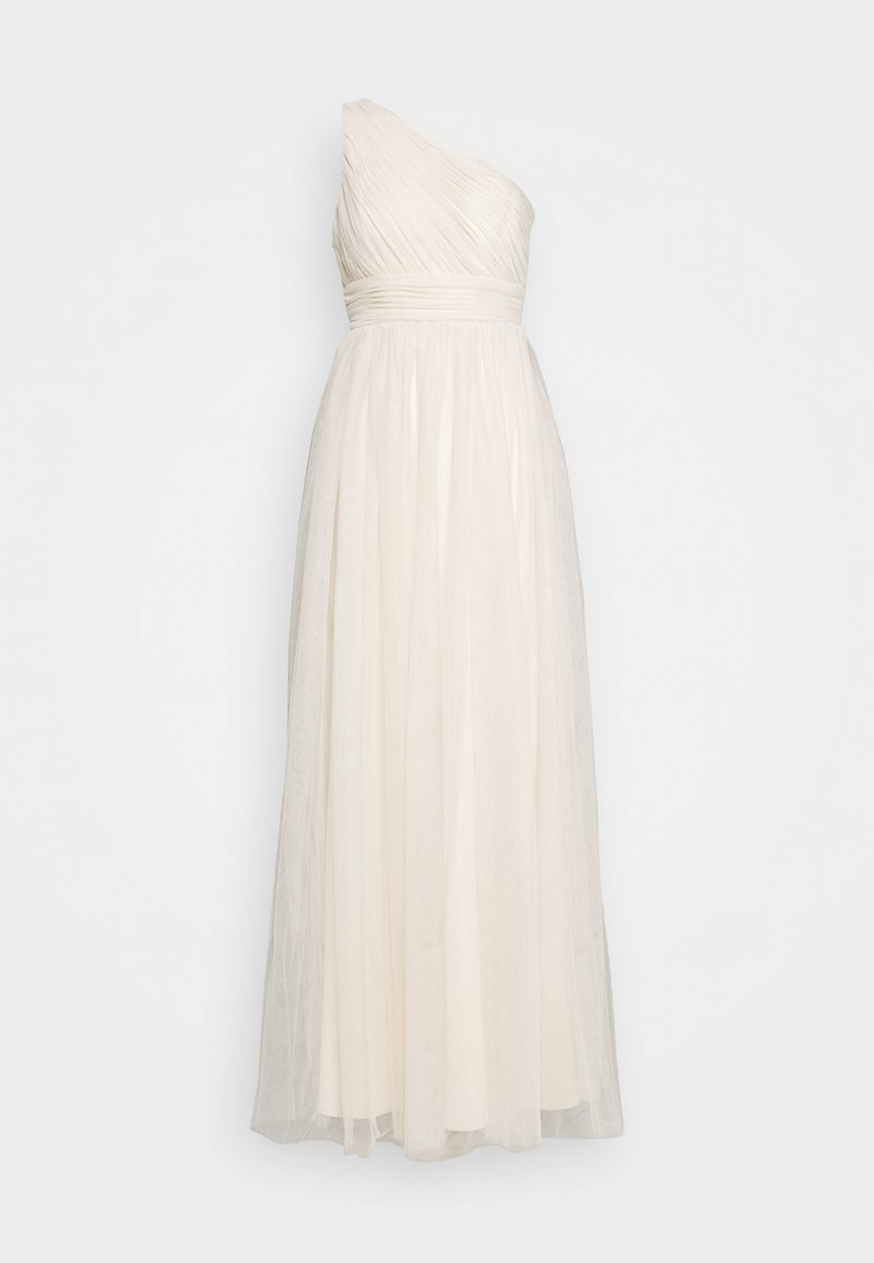 Nly by Nelly - STUNNING ONE SHOULDER GOWN - Abito da sera - champagne