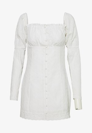 MOVE FOR ME DRESS - Robe chemise - white