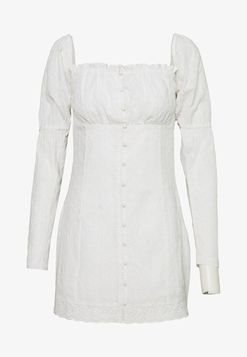 Nly by Nelly - MOVE FOR ME DRESS - Blousejurk - white
