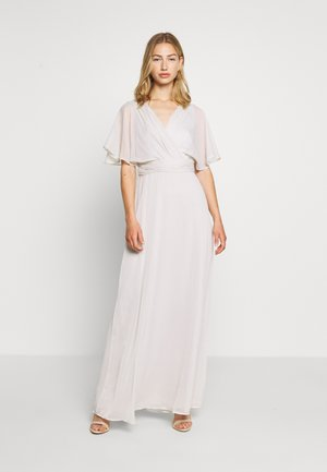 FLOWY SLEEVE GOWN - Vestido de fiesta - light grey