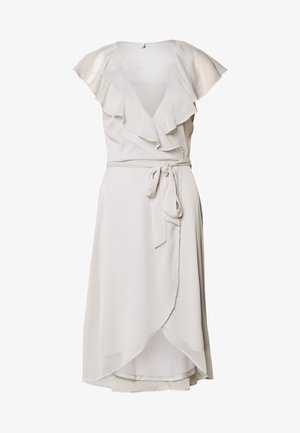DASHING FLOUNCE DRESS - Cocktailjurk - light grey
