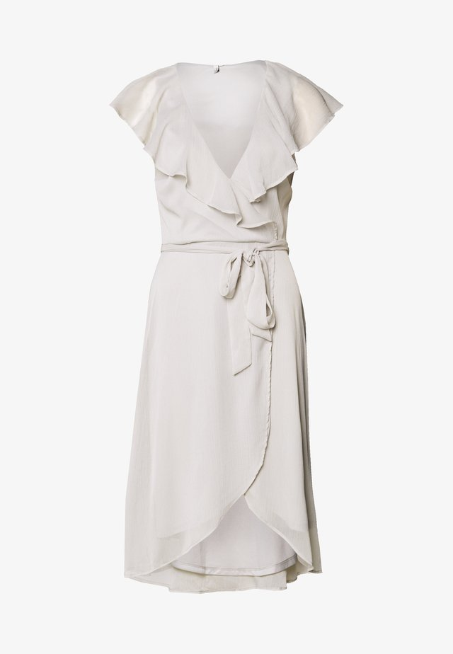 DASHING FLOUNCE DRESS - Sukienka koktajlowa - light grey