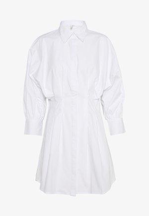 WAIST FOCUS SHIRT DRESS - Day dress - white