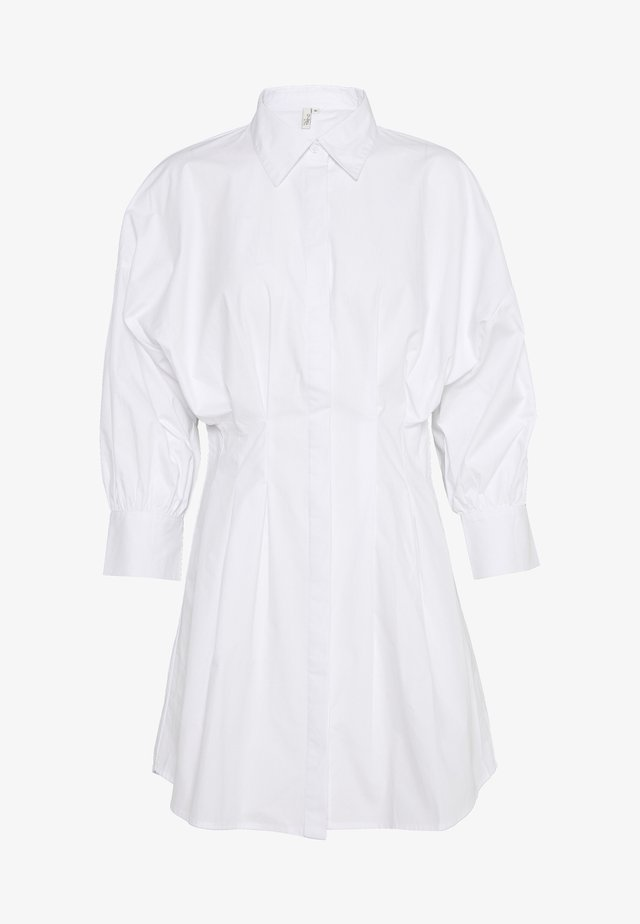 WAIST FOCUS SHIRT DRESS - Korte jurk - white