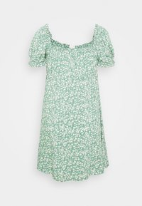 Nly by Nelly - FLIRTY BUTTON DRESS - Day dress - light green - 1