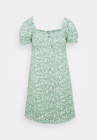 Nly by Nelly - FLIRTY BUTTON DRESS - Day dress - light green - 0