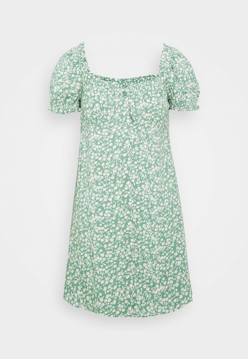 Nly by Nelly - FLIRTY BUTTON DRESS - Day dress - light green
