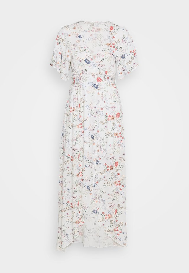 LONG WRAP DRESS - Maxikjoler - multi-coloured