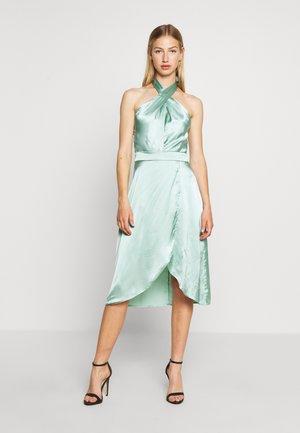 LOVESTRUCK HALTERNECK DRESS - Vestito elegante - pistasch