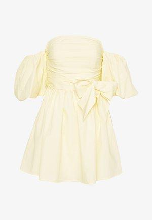 SWEET DARLING DRESS - Robe d'été - yellow