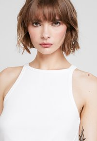 Nly by Nelly - HIGH NECK - Top - white - 4
