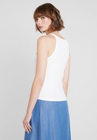 Nly by Nelly - HIGH NECK - Top - white - 2