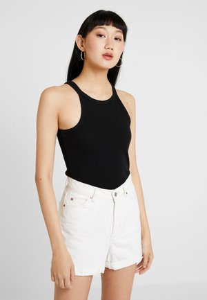 HIGH NECK - Top - black