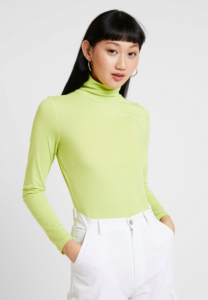 Nly by Nelly - EYECATCHER - Camiseta de manga larga - light green