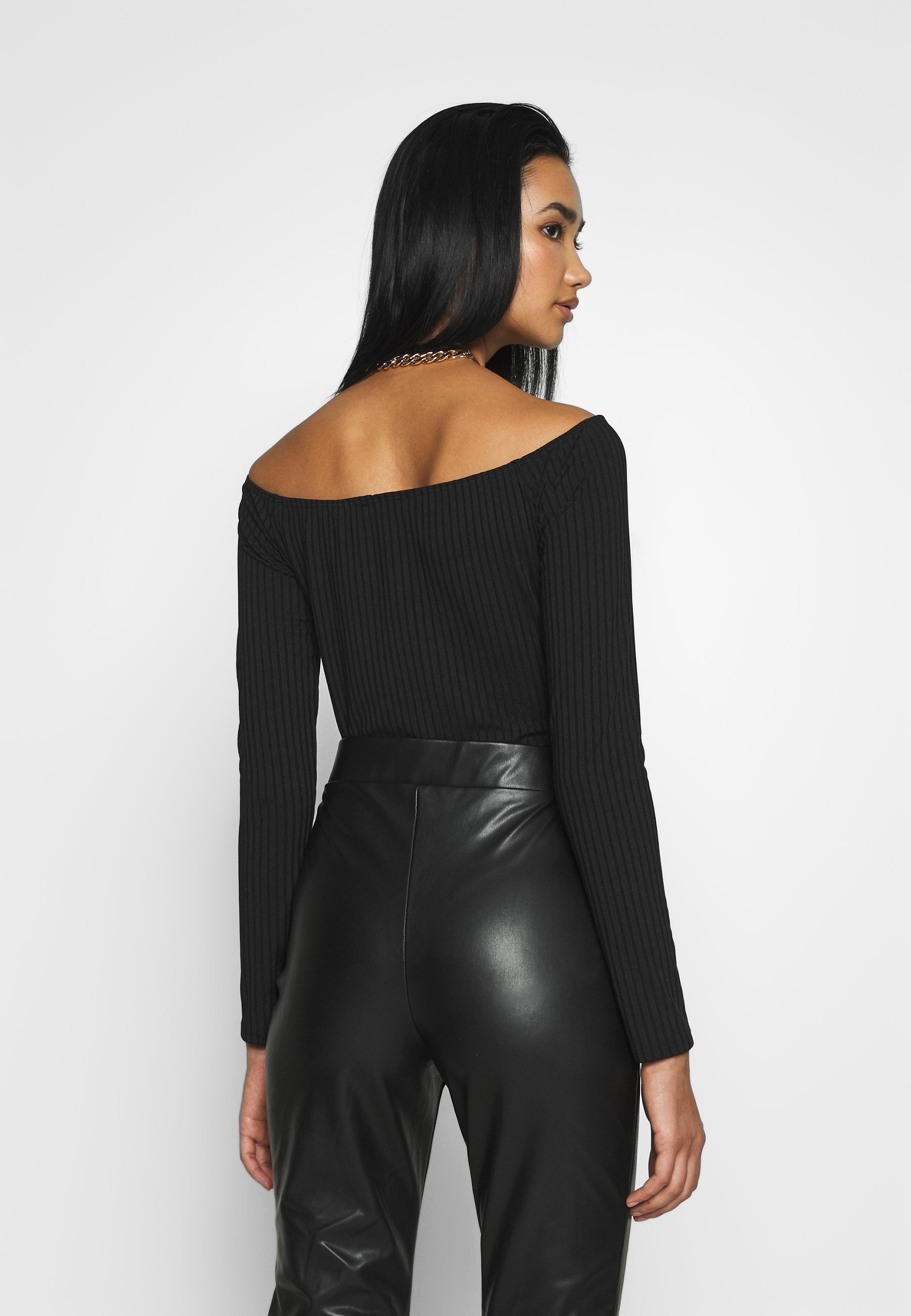 Nly by Nelly OFF SHOULDER  - Body - black