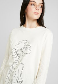 Nly by Nelly - ONE LINE - Topper langermet - white - 3