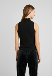 Nly by Nelly - TURTLENECK - Débardeur - black - 2