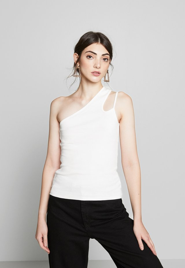ONE SIDE - Top - white