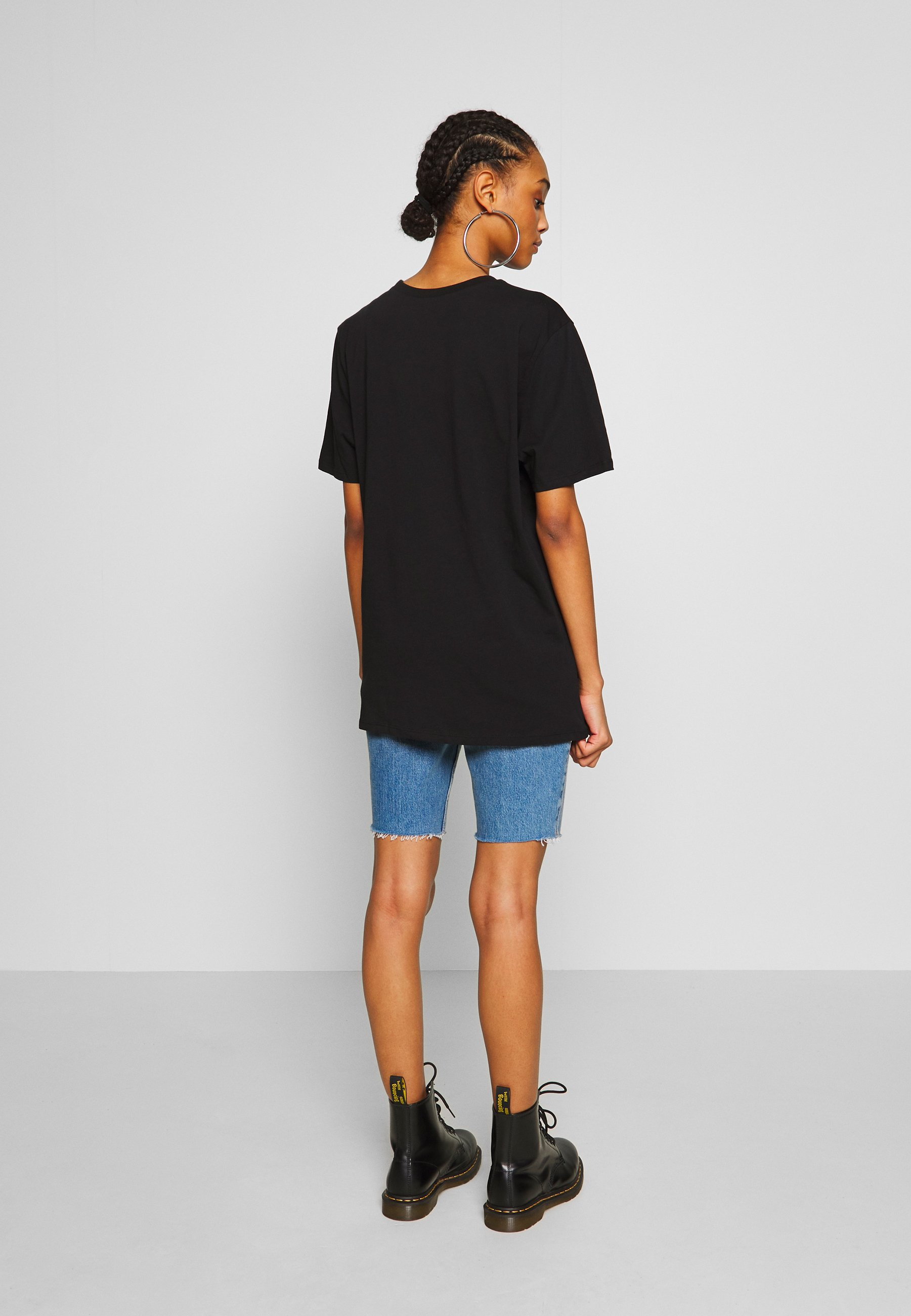 Nly by Nelly OVERSIZE REFLECTIVE TEE - T-shirts med print - reflective